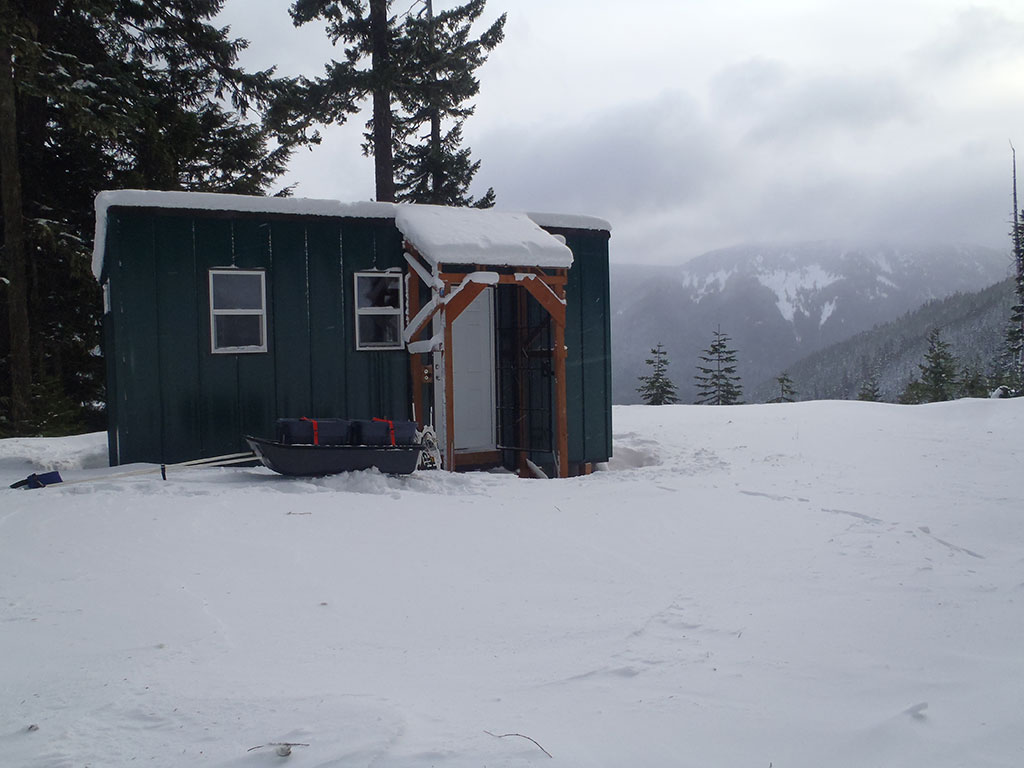 Barlow Butte Hut in the Morning