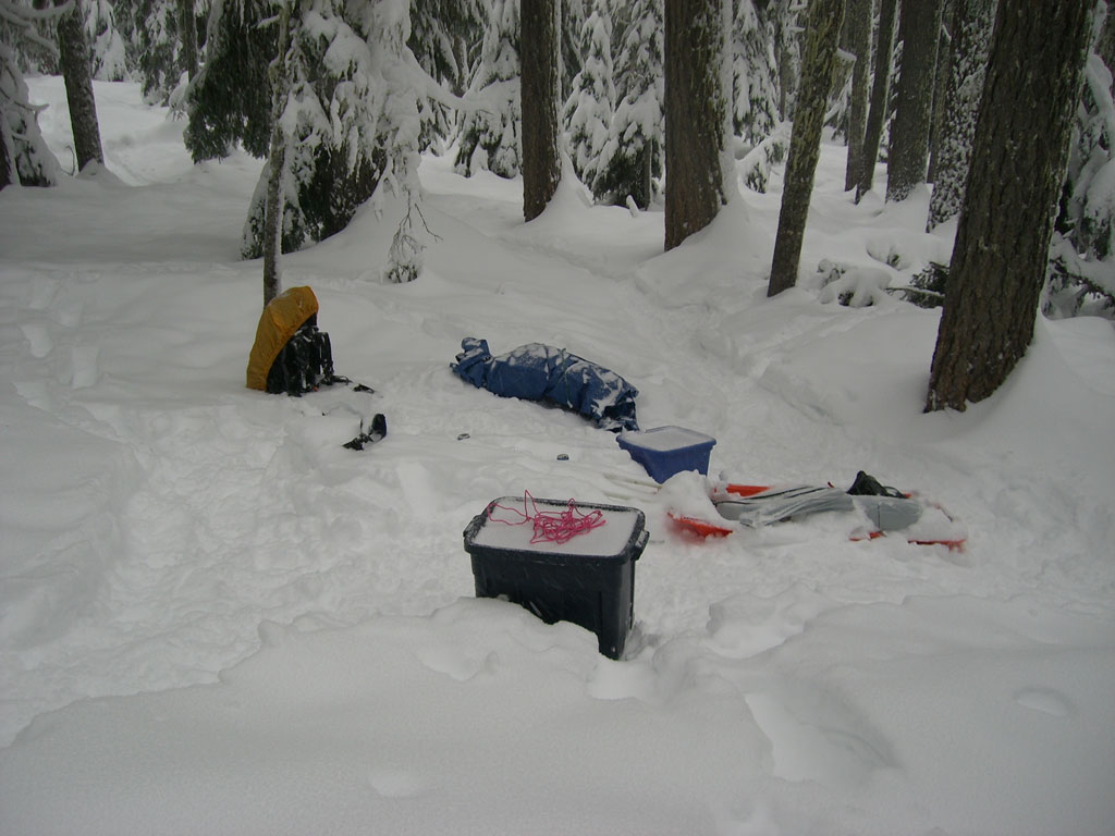 Snow Camping Gear