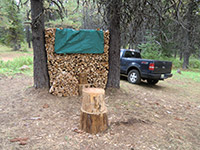 Firewood at Deer Camp