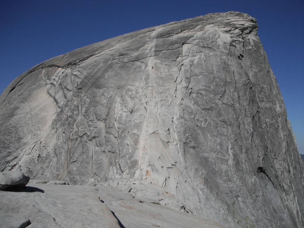 Hiking Half Dome Yosemite Ca Loomis Adventures