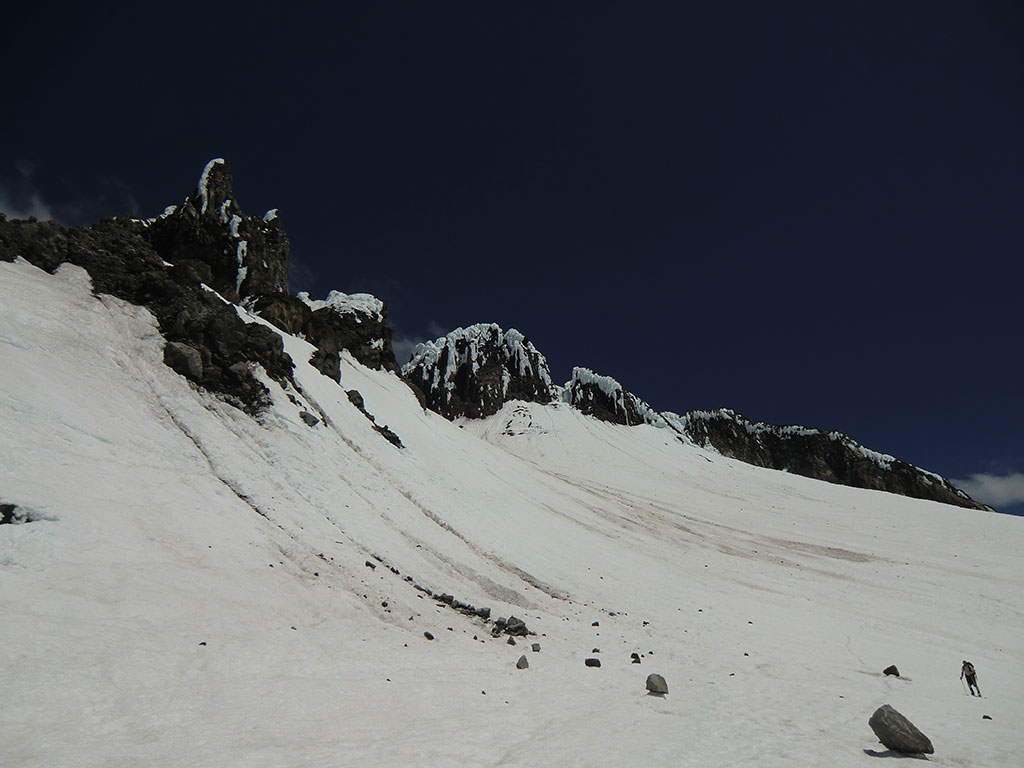 Rock Fall Near Illumination Rock