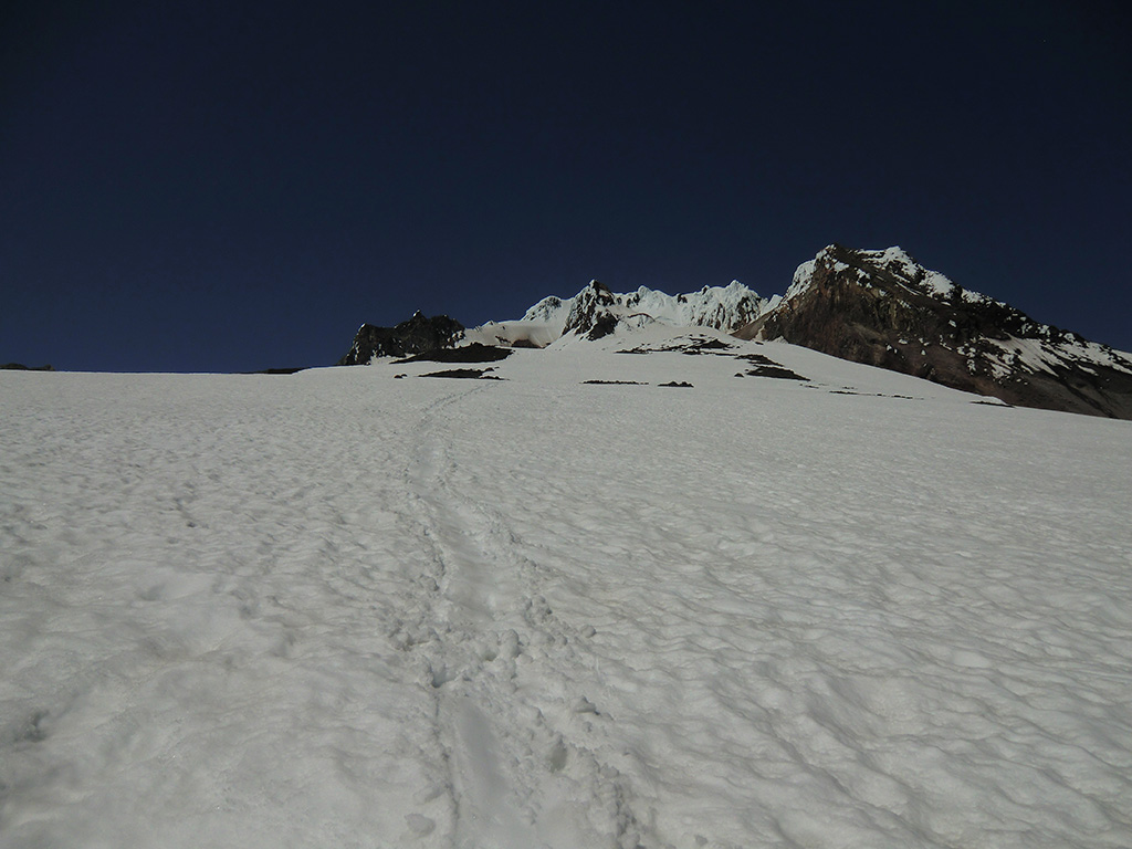 Glissade Track Down Mount Hood