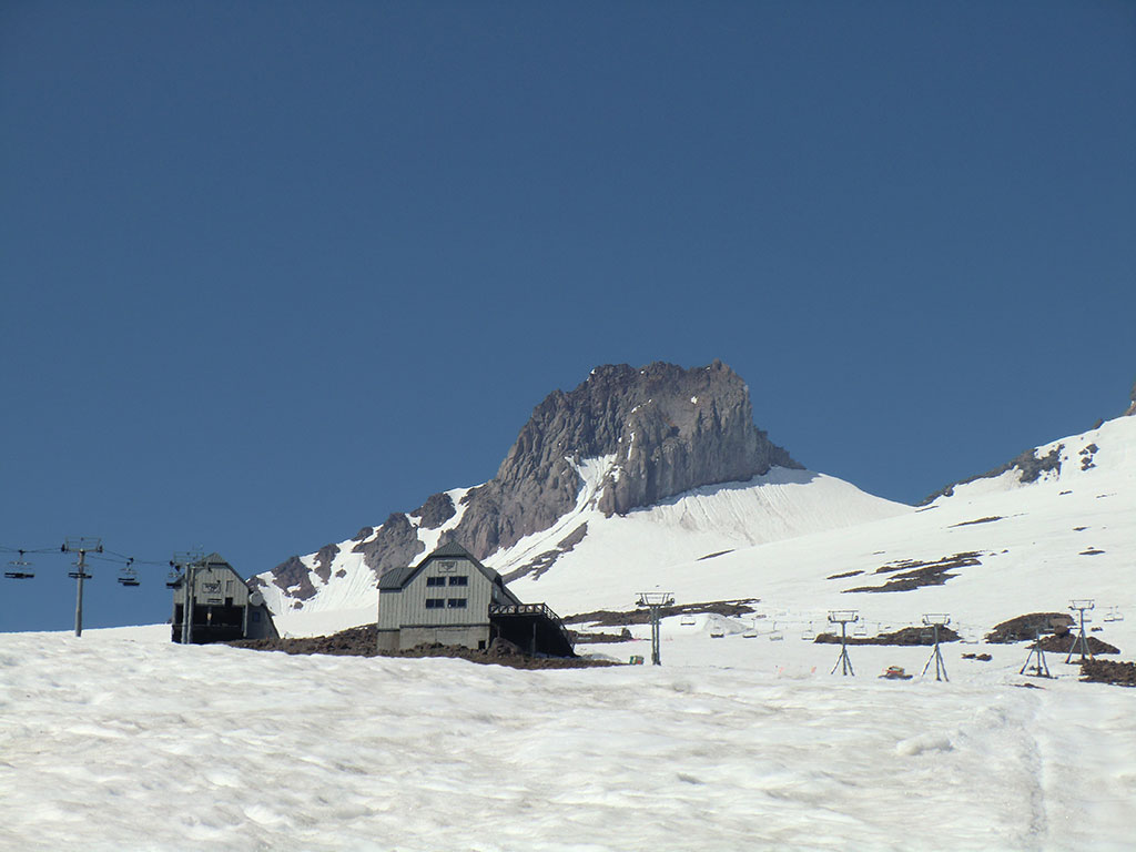Magic Mile and Palmer Chairlifts with Illumination Rock in the Background