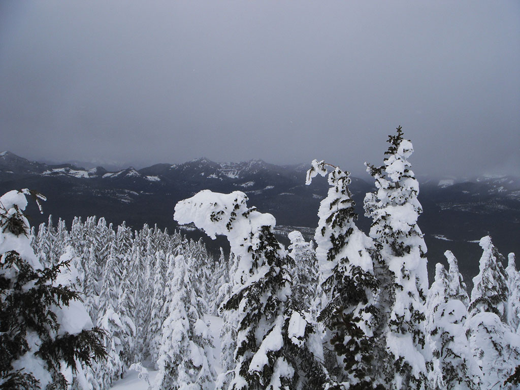 View from Atop Maxwell Butte Summit