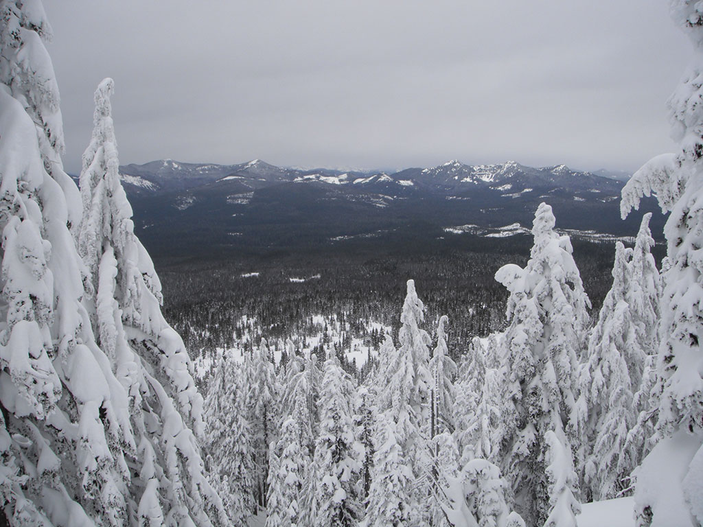 View from Lower Slopes of Maxwell Butte