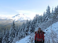Jason with Mt Hood in the Background