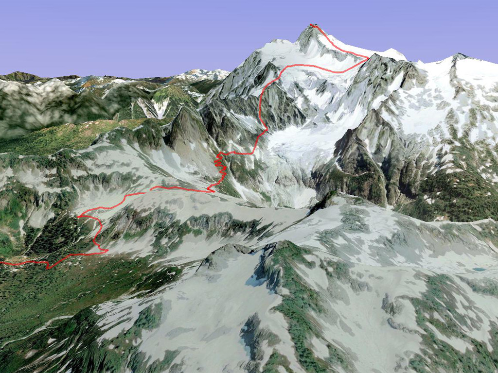Approximate Fisher Chimney Route