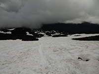 Poor Weather on Mount Adams (Looking South Down the Mountain)