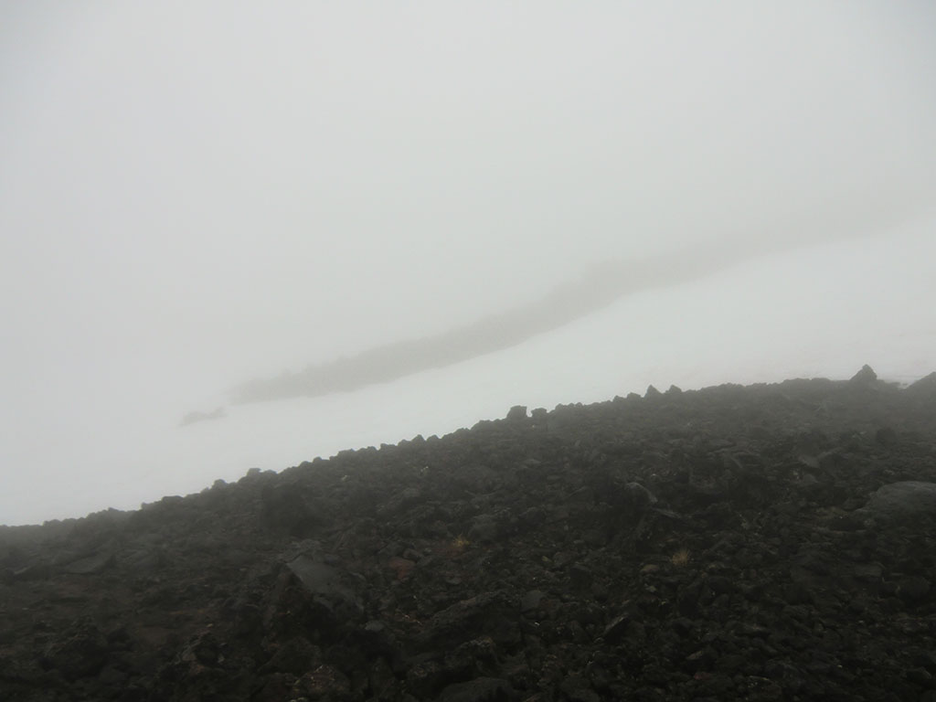Poor Visibility on Mount Adams