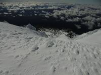 Looking South from Summit of Mount Hood