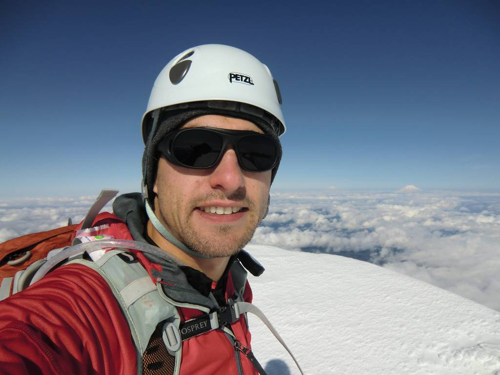 Jason on Summit of Mount Hood