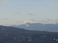 Mount Hood from Mount St. Helens