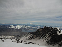 Summit Rim of Mount St. Helens Looking North