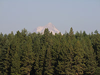 Mount Hood from Rock Creek Reservoir