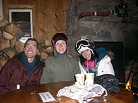 Jason, Katie, & Jessica at Warming Hut