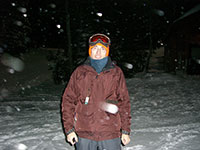 Jason in the Snow at Mt Hood Skibowl
