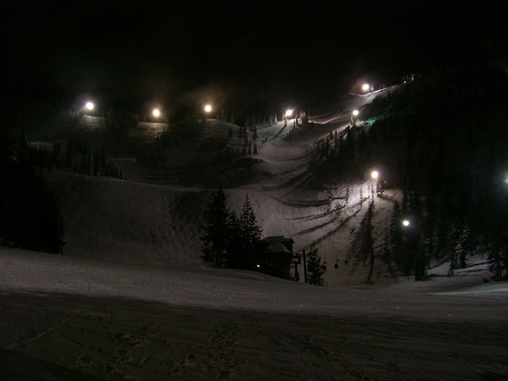 Upper Bowl at Night