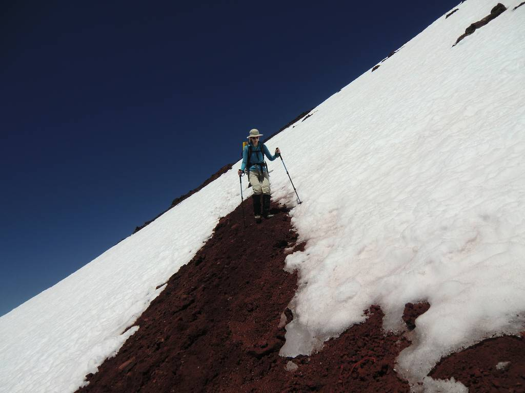 an essay on our climb to south sister