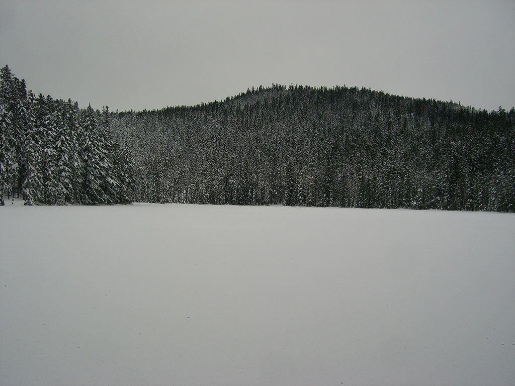 Lower Twin Lake in the Snow