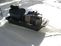 Pelican Snow Trek 60 Pulk Sled