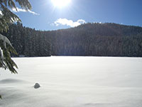 Lower Twin Lake in the Sun
