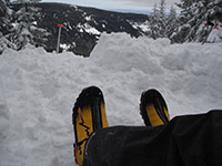 Jason's La Sportiva Batura EVO Boots at Echo Point