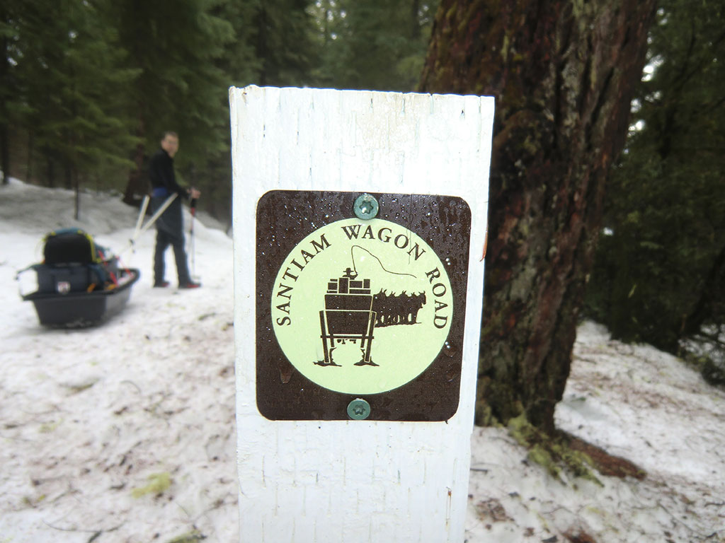 Crossing the Santiam Wagon Road