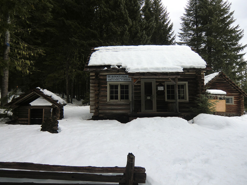 Dispatcher's Cabin - Fish Lake Remount Depot