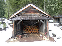 Garage/Woodshed - Fish Lake Remount Depot