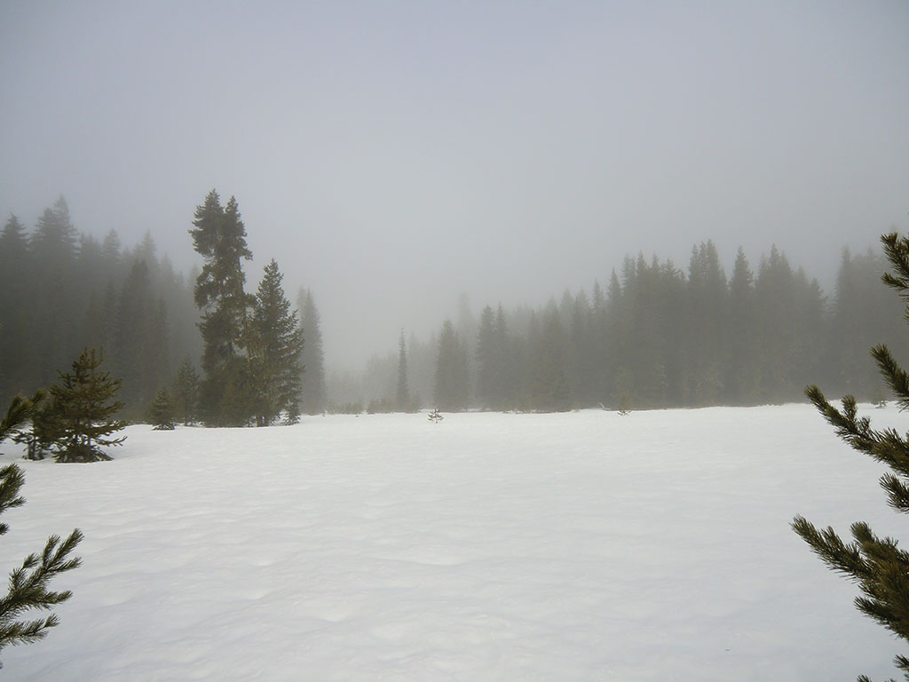 Snowmobiling to timothy lake oregon loomis adventures for Clear lake oregon fishing