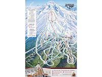 Timberline Ski Area Trail Map