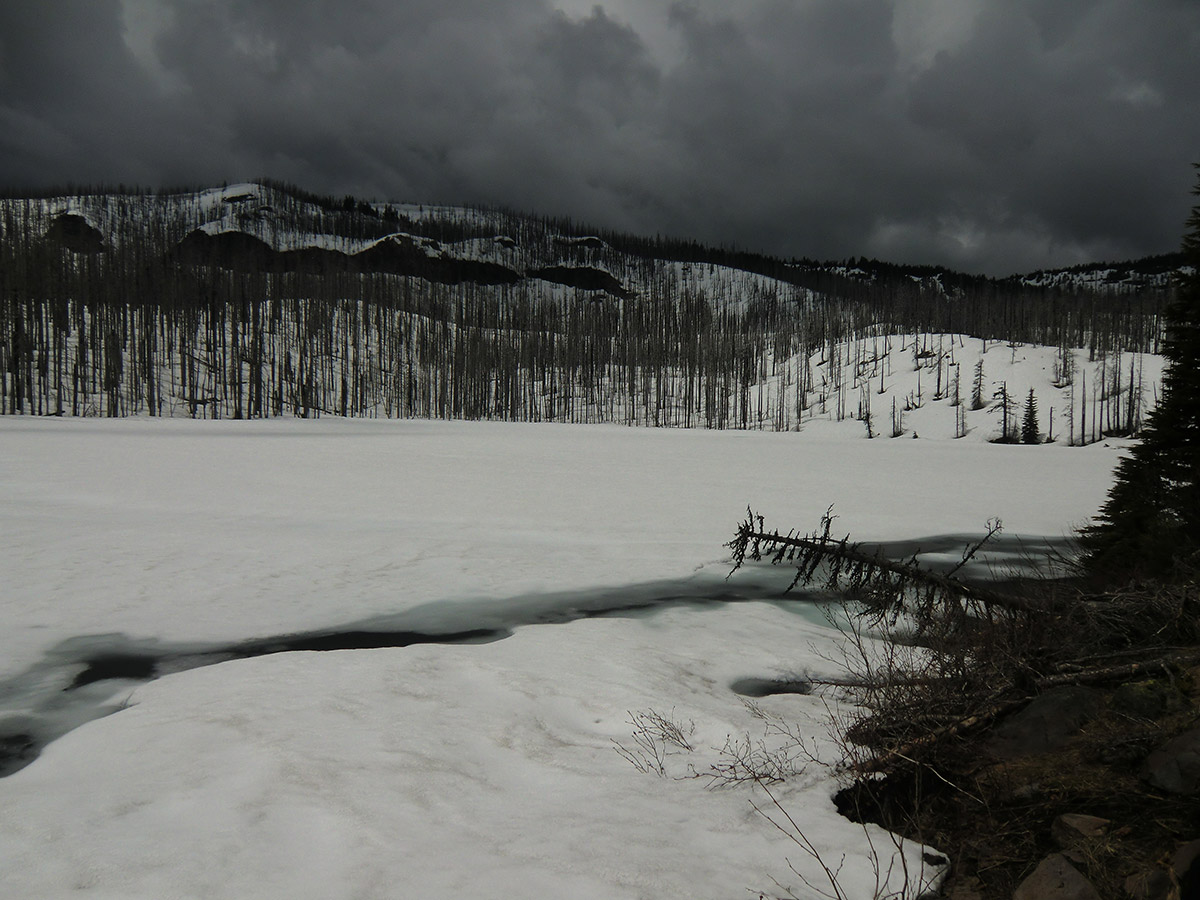 Frozen Booth Lake