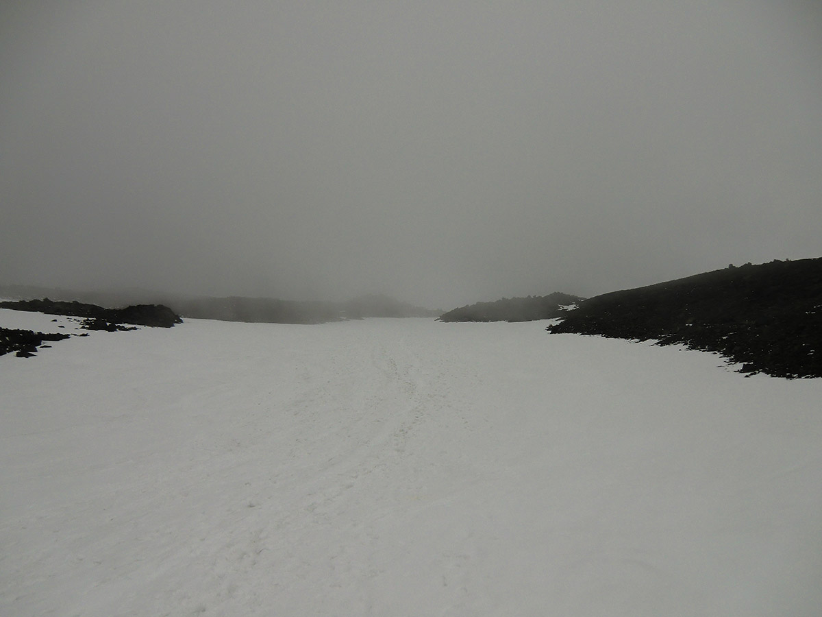 Low Visibility High up Mt Adams (below lunch counter)
