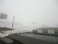Poor Visibility on Mt Hood (from Timberline Lodge parking lot)