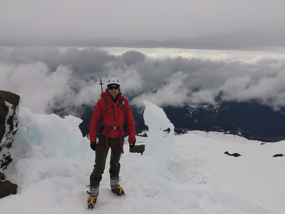 Jason Below Mt Hood Summit