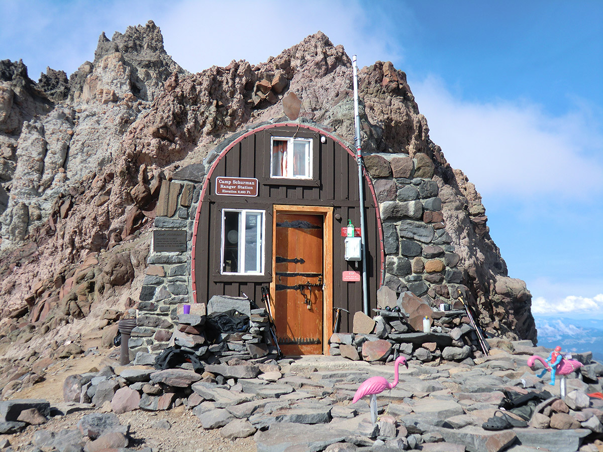 Camp Schurman Ranger Hut