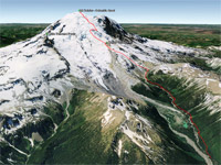 Mt Rainier Emmons-Winthrop Glacier Route