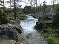 Small Waterfalls on Paulina Creek
