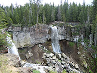 Paulina Creek Falls
