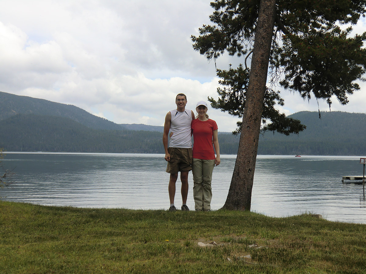 Jason and Katie at Paulina Lake