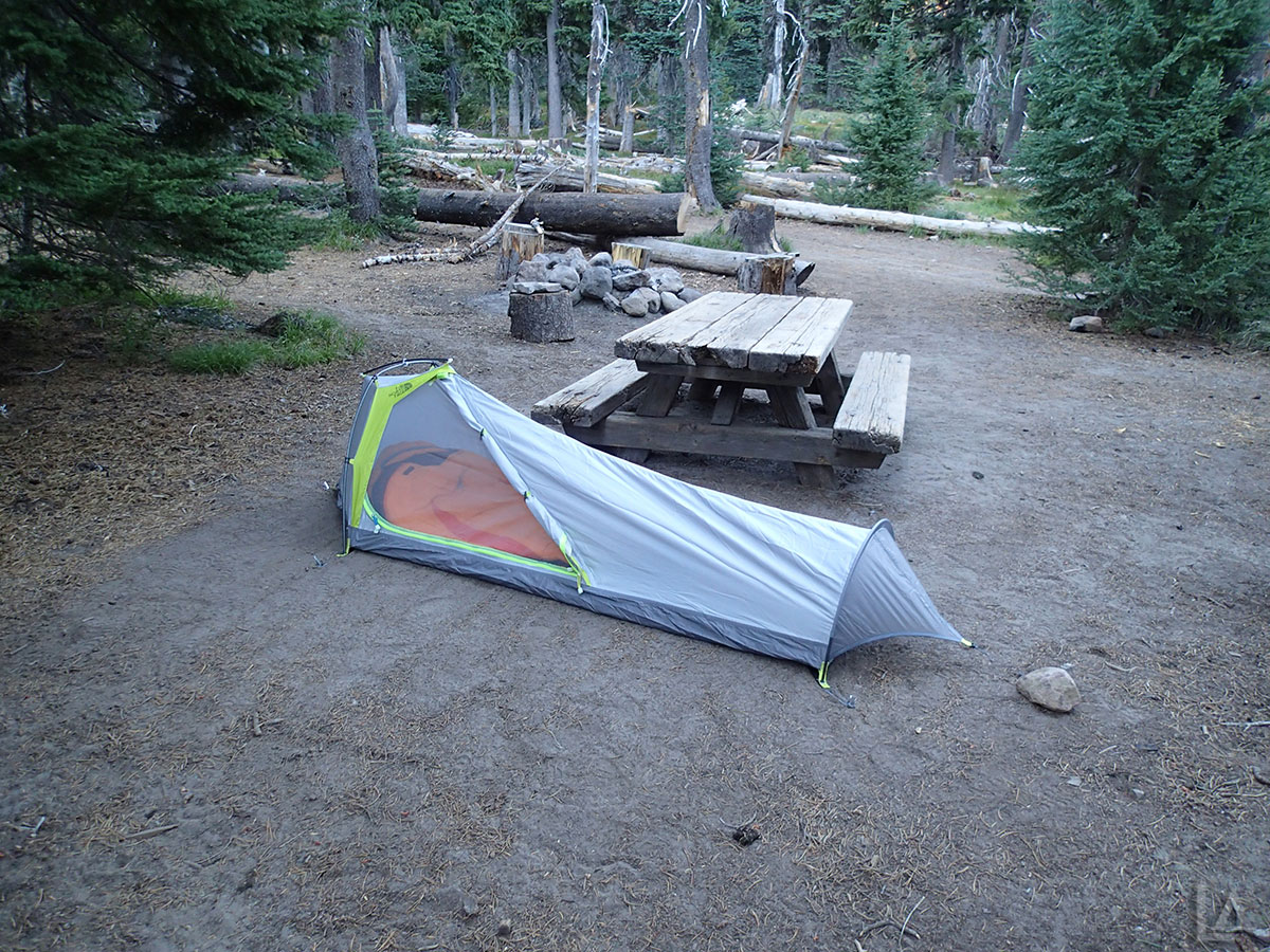 My Bivy at Cold Springs Campground