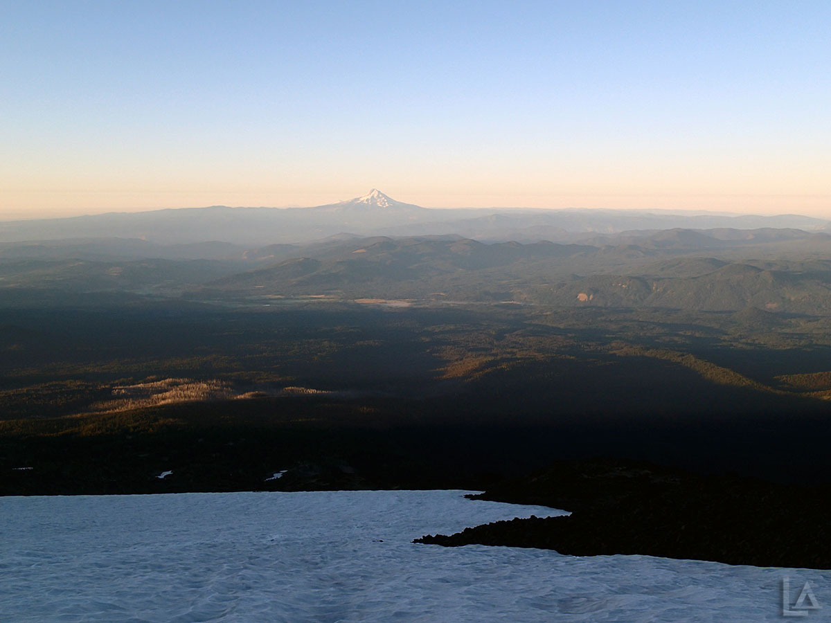 Mt Hood from Mt Adams