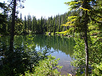 Small Lake off the Potato Butte Trail