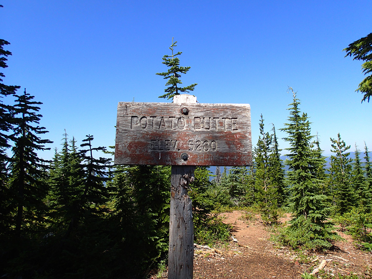 Summit of Potato Butte
