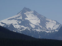 Closeup of Mt Jefferson