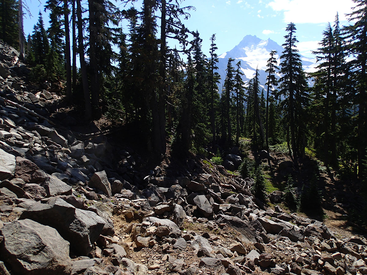Trail Across Talus
