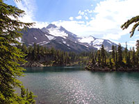 Bays Lake, Jefferson Park - Mt Jefferson Wilderness, Oregon