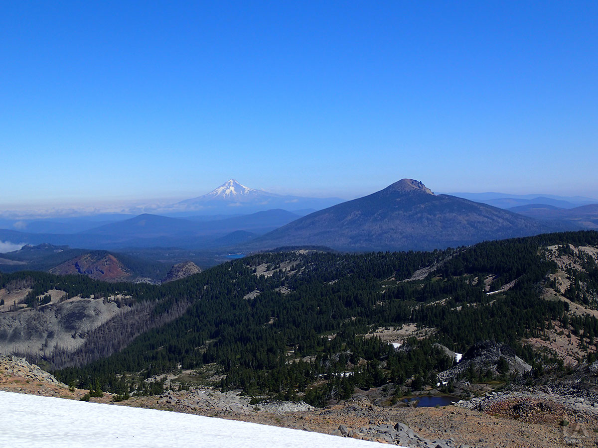 Mt Hood and Olallie Butte