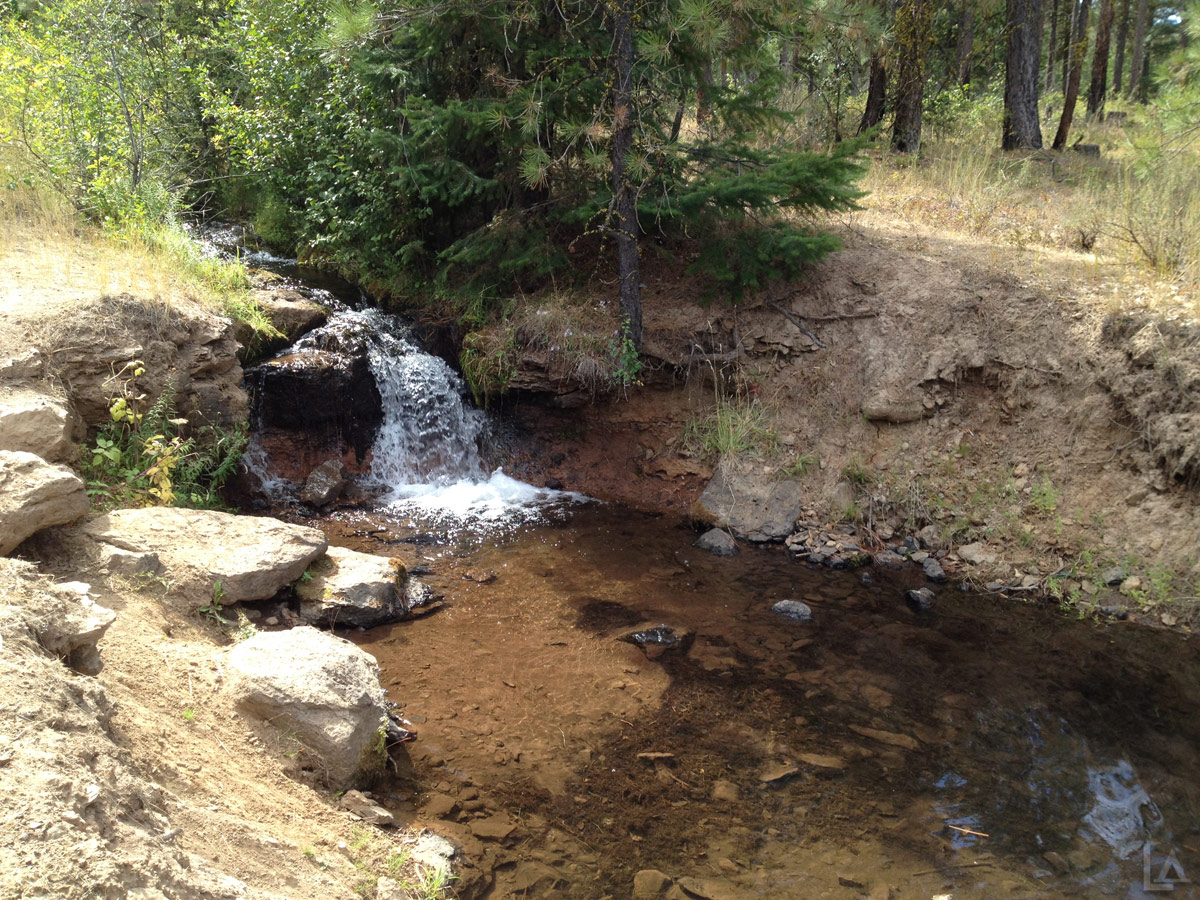 Small Creek that Flows into Rock Creek Reservoir