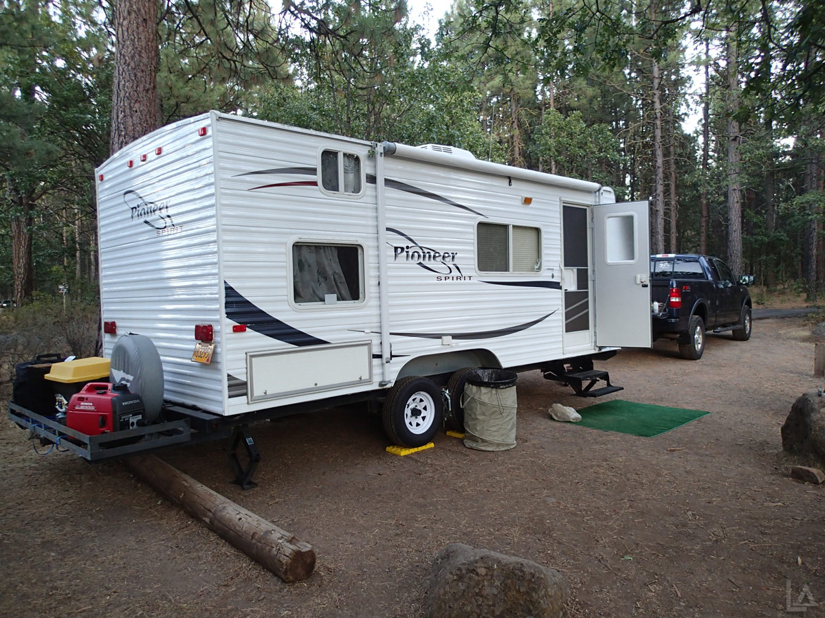 Our Fleetwood Pioneer Travel Trailer